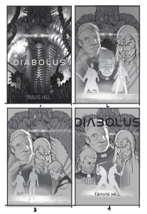 """Diabolus"" initial rough sketches"